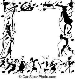 paintings., cueva