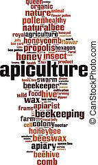 palabra, apiculture, nube