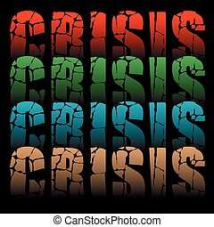 palabra, crisis
