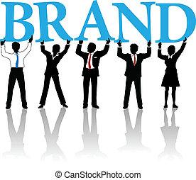 palabra, empresarios, marca, construya, identidad