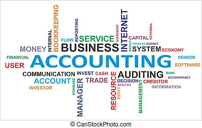 palabra, -, nube, contabilidad