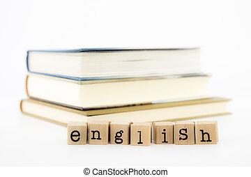 Palabras inglesas en libros