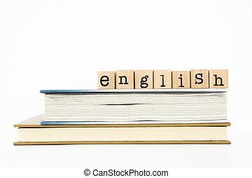 Palabras inglesas y libros