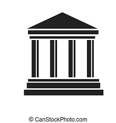 palacio de justicia, edificio, banco