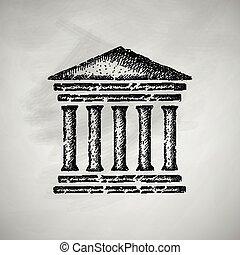 palacio de justicia, icono