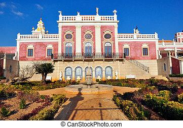 Palacio Estoi en Estoi, Portugal