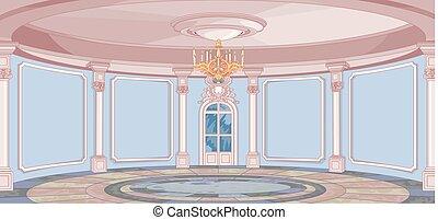 palacio, vestíbulo