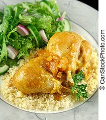Palitos de pollo de albaricoque