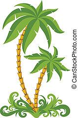 Palmas tropicales