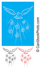 Paloma espíritu santo