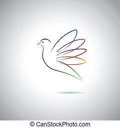 Paloma y paz