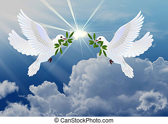 Palomas de paz