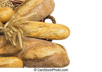 Pan con una copia a la derecha