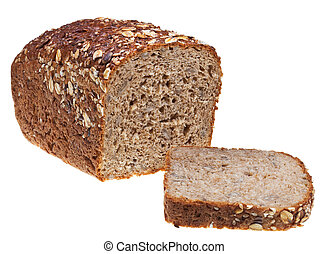 Pan de pan de grano y una corazonada