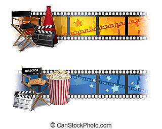 Pancartas de cine
