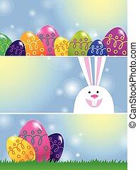 Pancartas de Pascua
