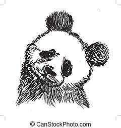 Panda, símbolo de China
