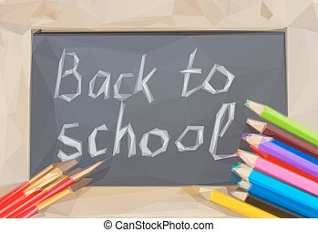 Pandilla negra con vuelta a la escuela