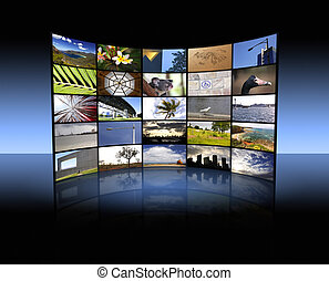 Panel de TV