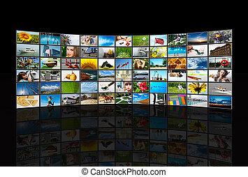 Paneles multimedia