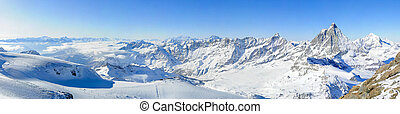 Panorama de KI. Matterhorn