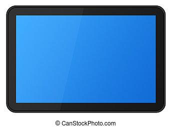 pantalla del tacto, tableta, xxl