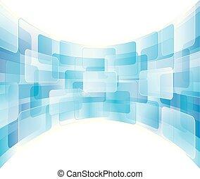 pantalla, virtual