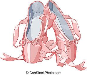 pantuflas, ballet