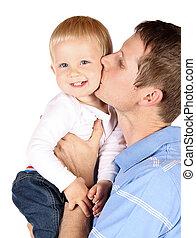 Papá con el bebé
