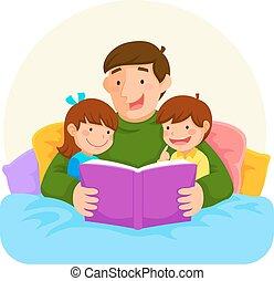 papá, historia, bedtime