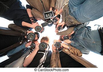 Paparazzi en el objeto