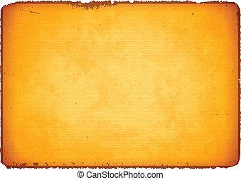 Papel antiguo con bordes rasgados
