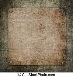 Papel antiguo de hoja textura