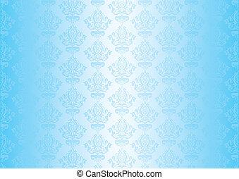 Papel azul vector