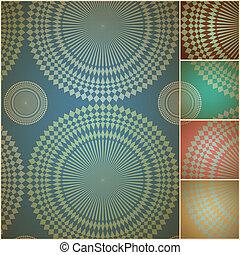 Papel de fondo geométrico