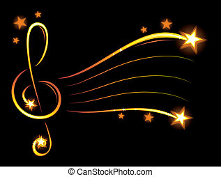 Papel de música