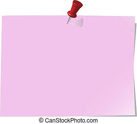 Papel de notas, Redbud
