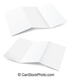 papel, doblado