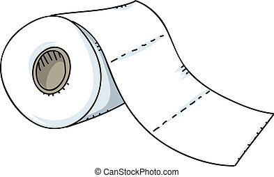 papel higiénico, rollo