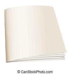 papel, libro, espalda