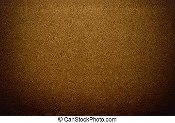 Papel marrón oscuro