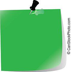 Papel pintado, verde