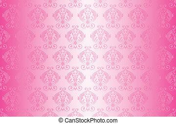 Papel rosa vector