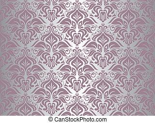 Papel rosa y plata
