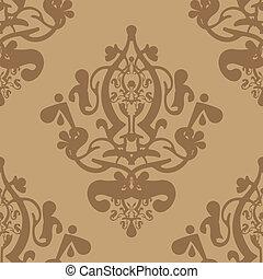 Papel tapiz de vector beige