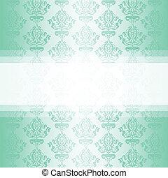 Papel tapiz de vector turquesa