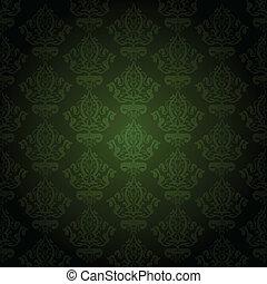 Papel verde vector