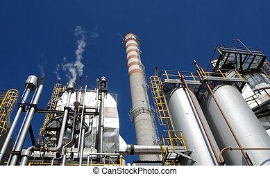 Papel y pulpa, planta de energía