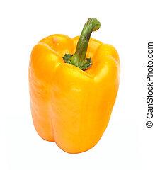 (paprika), pimienta dulce, aislado