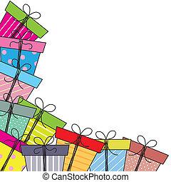 paquetes, regalo